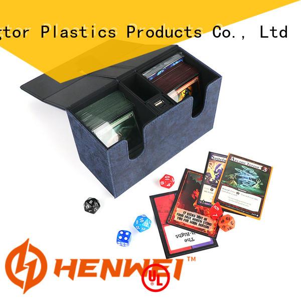 HENWEI custom deck box supplier for trader