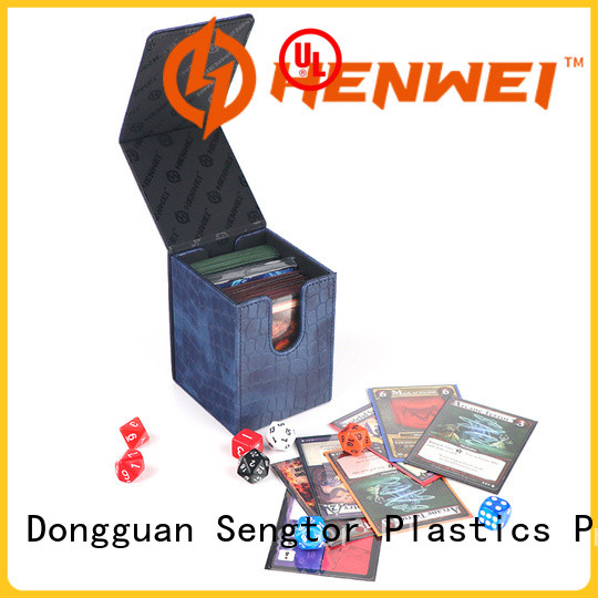 HENWEI custom deck box from China for trader