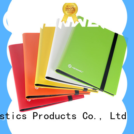 HENWEI best quality card binder factory for sale