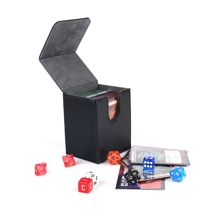 Deck box for board game - premium PU deck protector