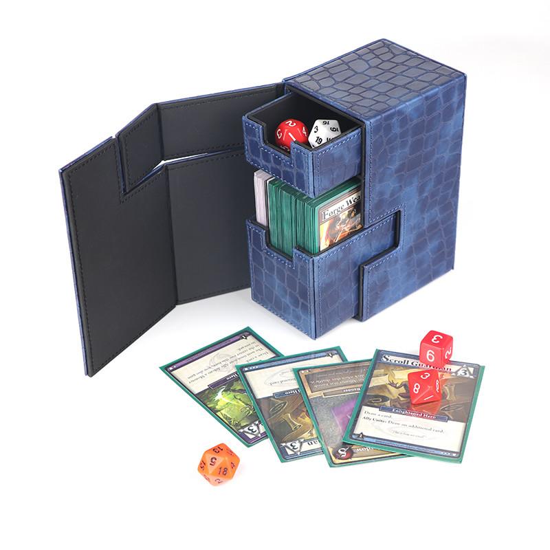 Plastic Kirin deck box  M2 premium PU deck protector