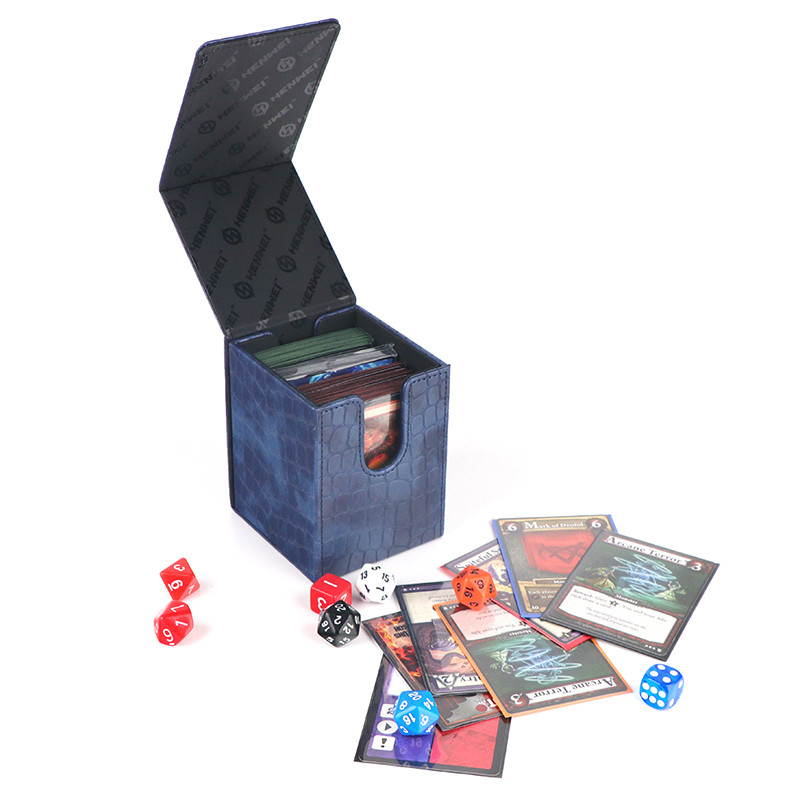 Kirin card storage deck box  for board game can be opened on both sides
