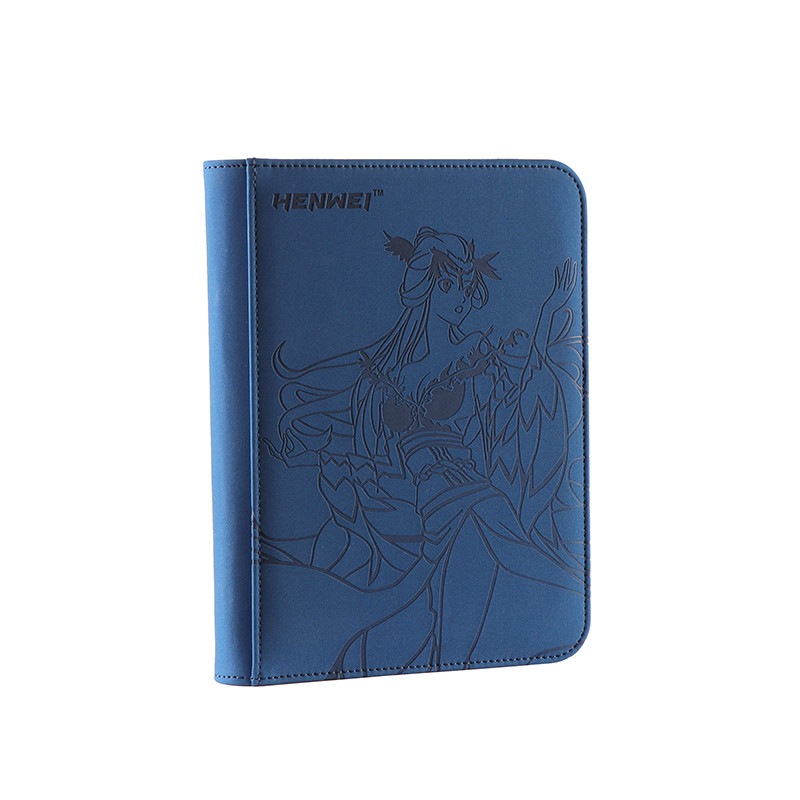 Cheap 4-pocket playing card binder LUYANLING card holder album for board game