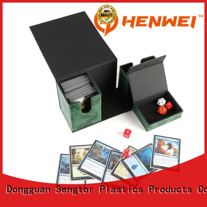 custom deck box provider for cards
