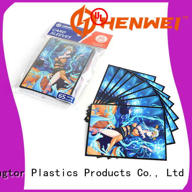 HENWEI best card sleeves supplier for wholesale