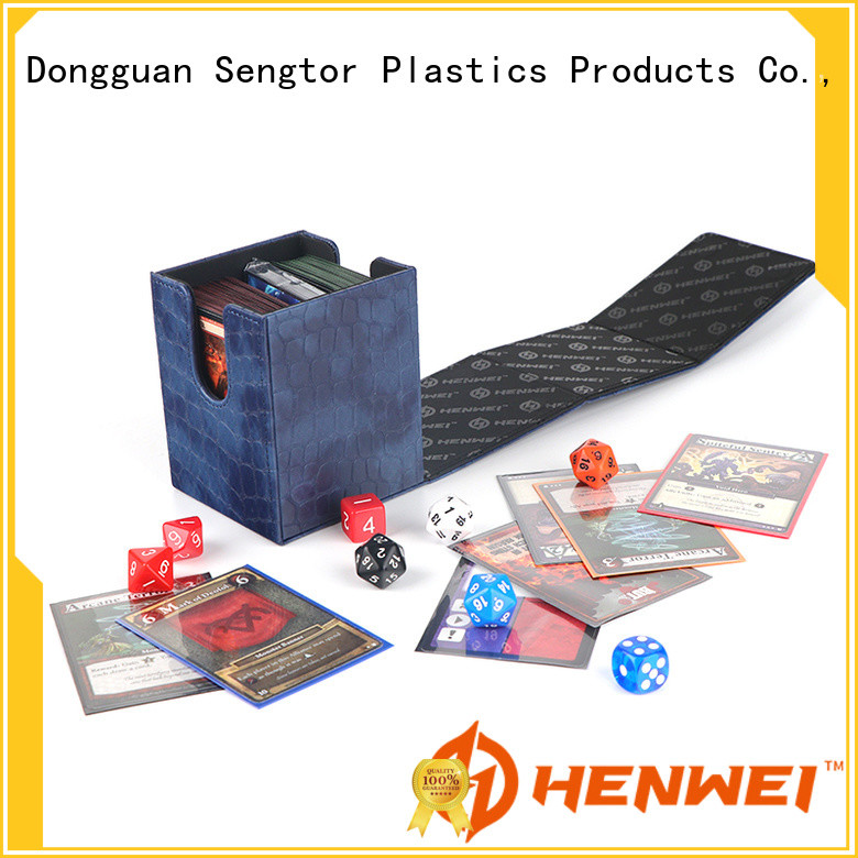 HENWEI factory directly supply deck box supplier for trader