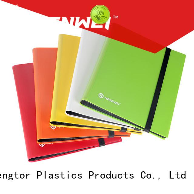 HENWEI card binder supplier for businessman