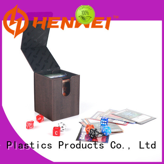 HENWEI deck box provider for cards