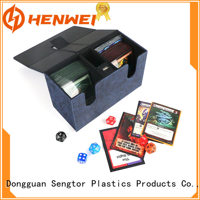 HENWEI deck box from China for cards