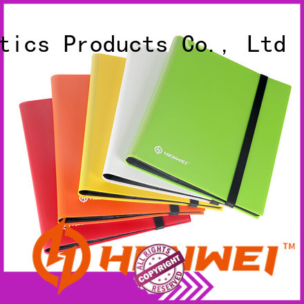 HENWEI card binder manufacturer for sale