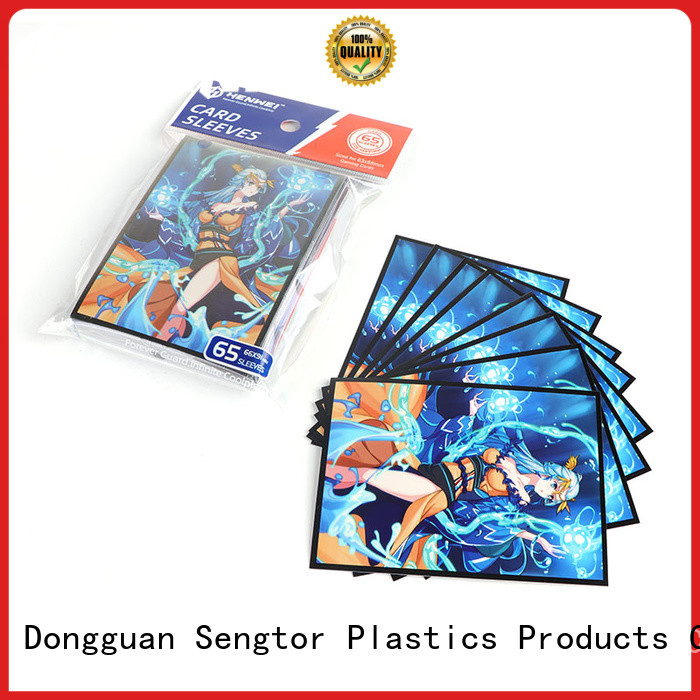 HENWEI custom baseball card sleeves overseas trader for wholesale