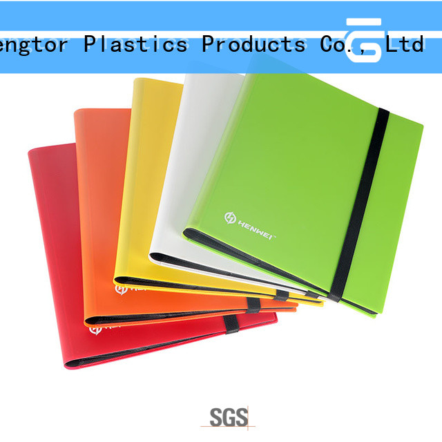 HENWEI card binder supplier for businessman
