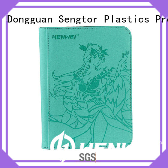 HENWEI card binder manufacturer for businessman