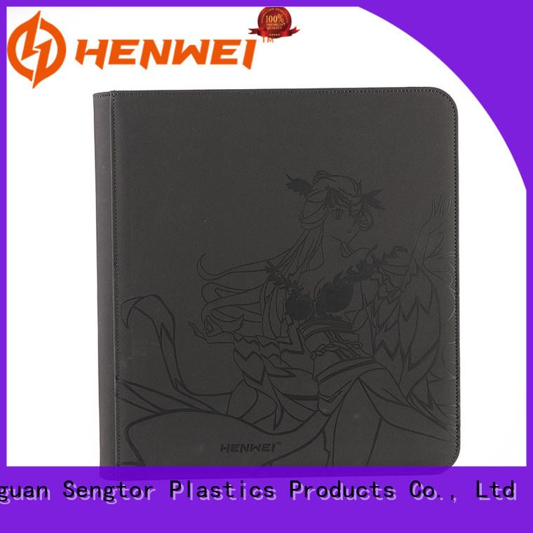 HENWEI card binder overseas trader for businessman