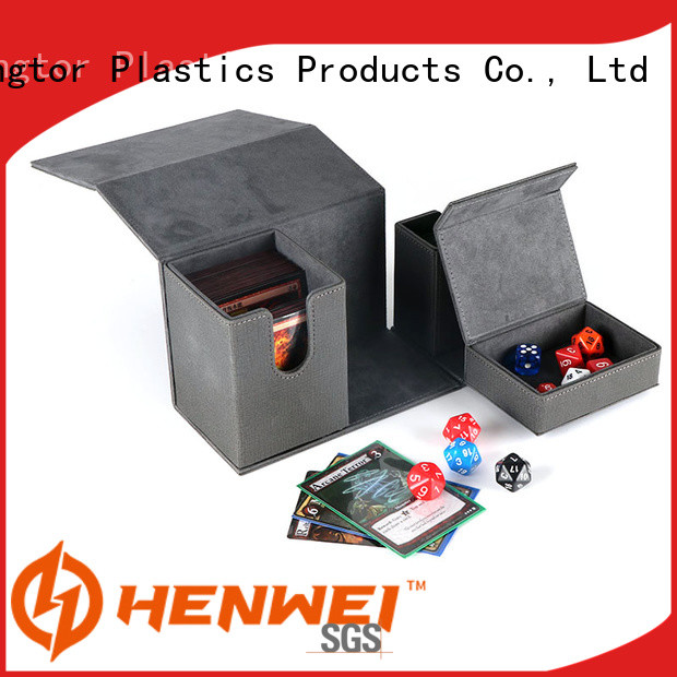 HENWEI custom deck box wholesale for cards