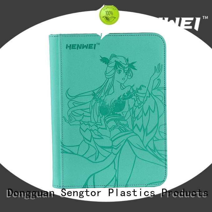 HENWEI card binder factory for sale