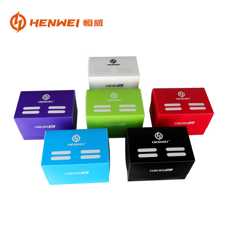 PP plastic 300+ Trading Card Protector Deck Box