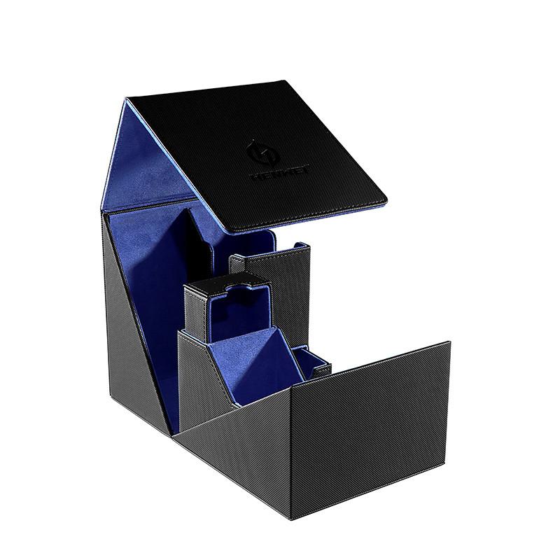 PU Plastic silk-screen Deck Box