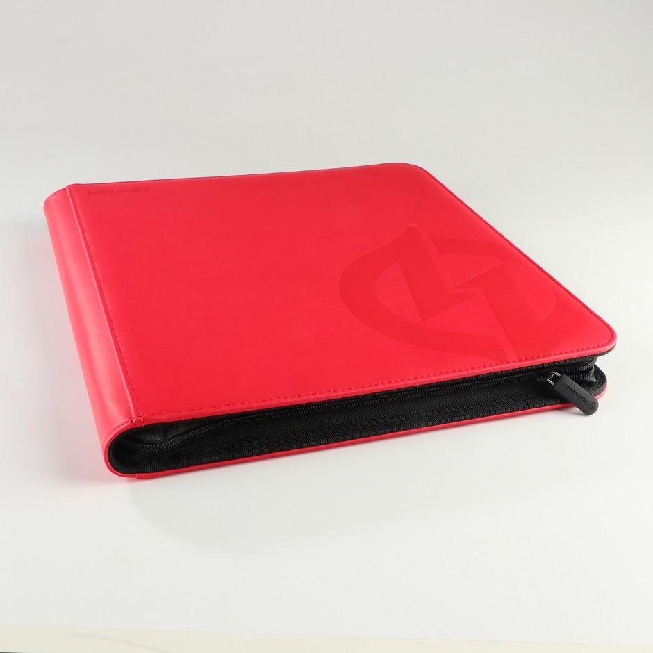 PU 12 pocket protection zipper gathering card binder