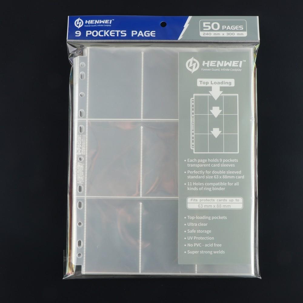 PP Loose-leaf Interior Pockets