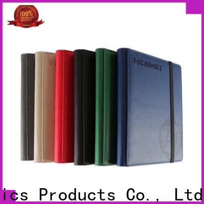 HENWEI trading card binder one-stop services for importer