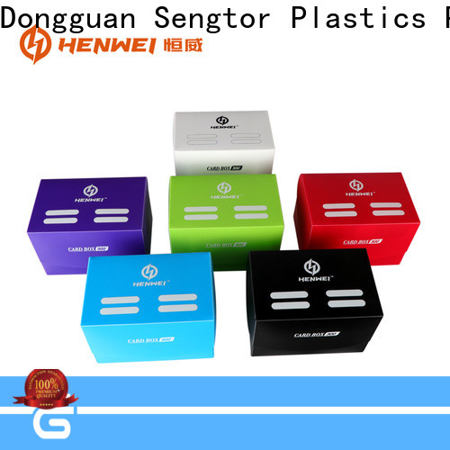 HENWEI trading card boxes wholesale for importer