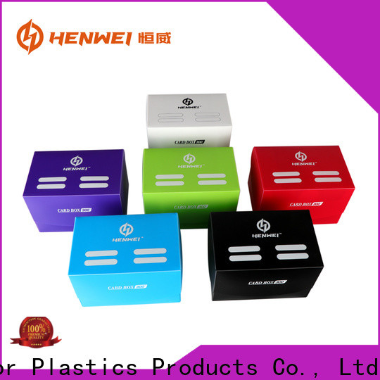HENWEI magic deck box from China for sale