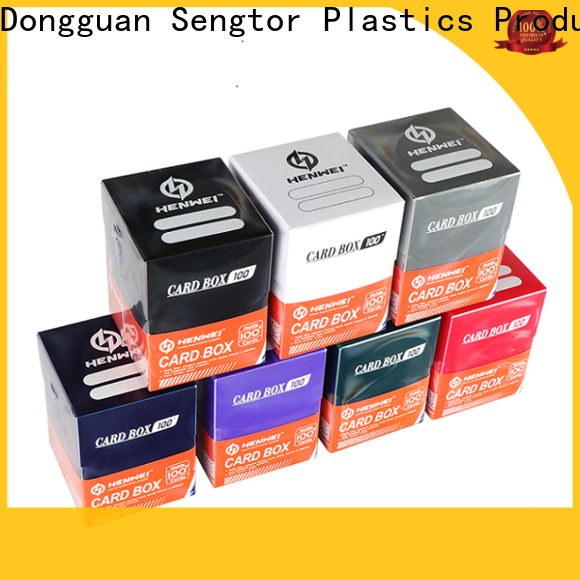 HENWEI pp box supplier for wholesale