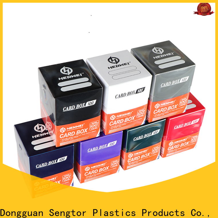 HENWEI latest trading card boxes overseas trader for sale