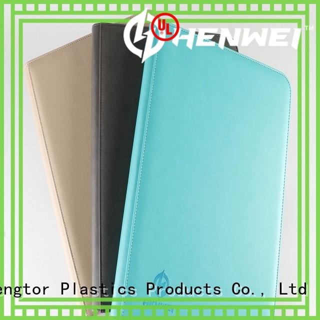 HENWEI crazy price custom binders factory for wholesale