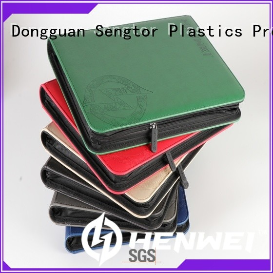 HENWEI stable supply card binder factory for businessman