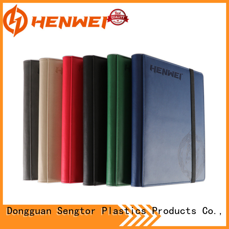 HENWEI crazy price card binder factory for sale