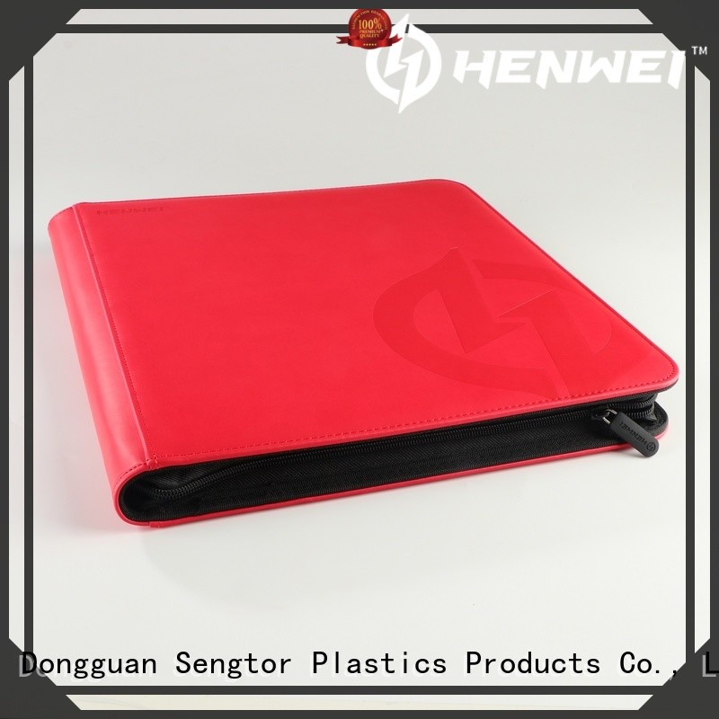 HENWEI football card binder factory for wholesale