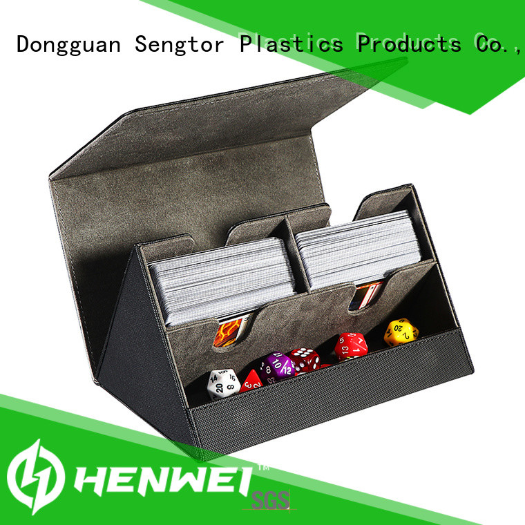 HENWEI custom deck box wholesale for trader