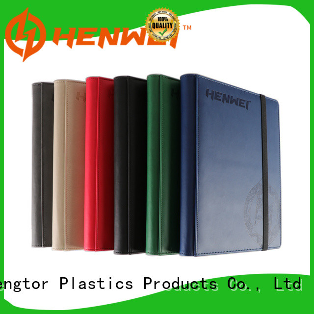 HENWEI oem odm card binder overseas trader for businessman