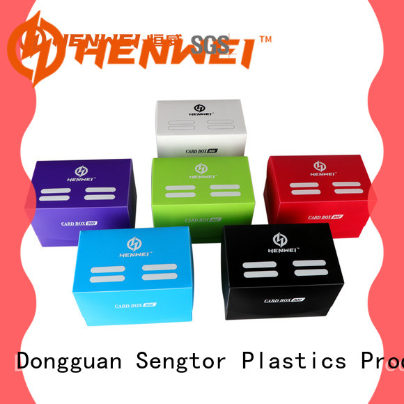 HENWEI card storage box factory for importer