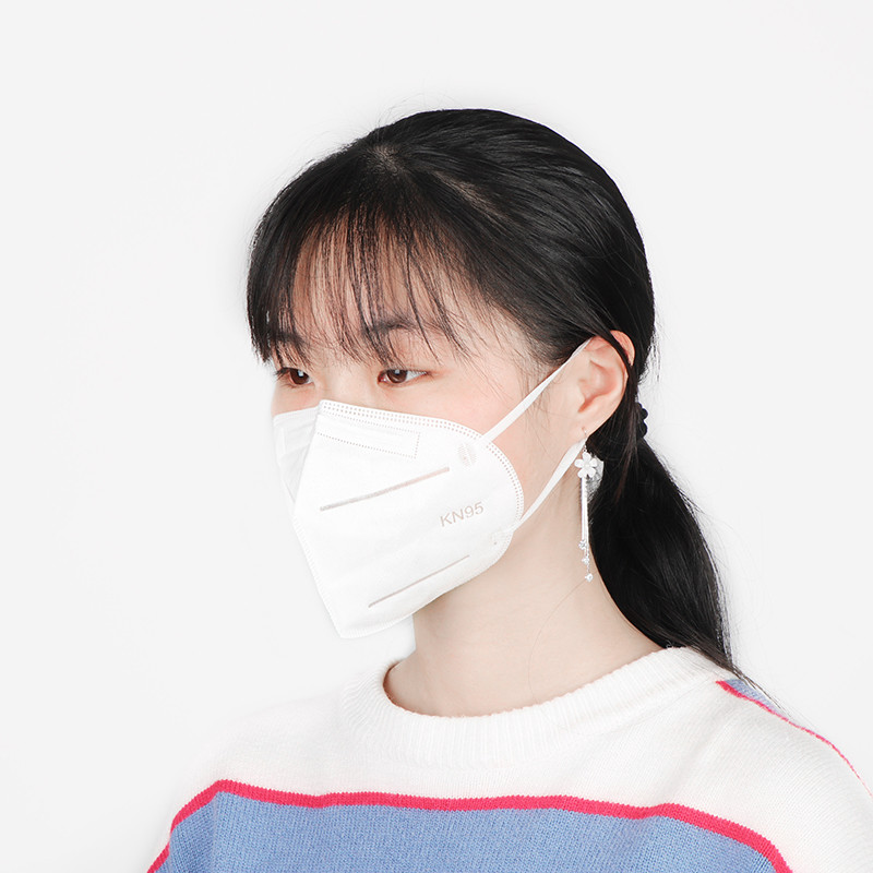 Disposable Breathing Face Mask Kn95 4 Layer Protective Respira
