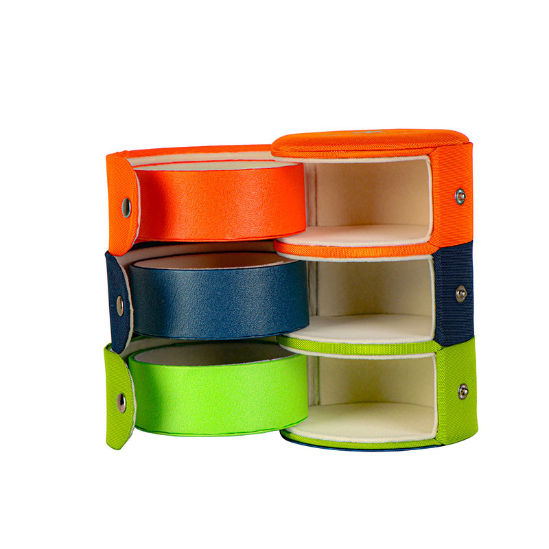 Storage box with multi-layer rotation function