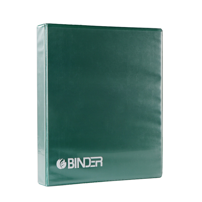 Green three-layer coated PP card book