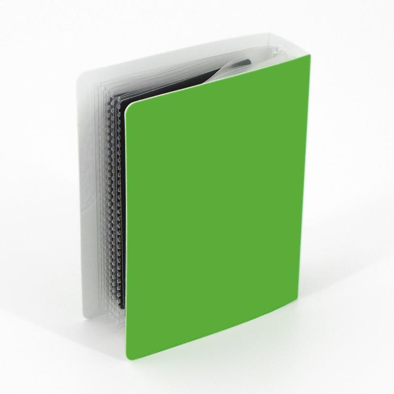 Single frame green PP album