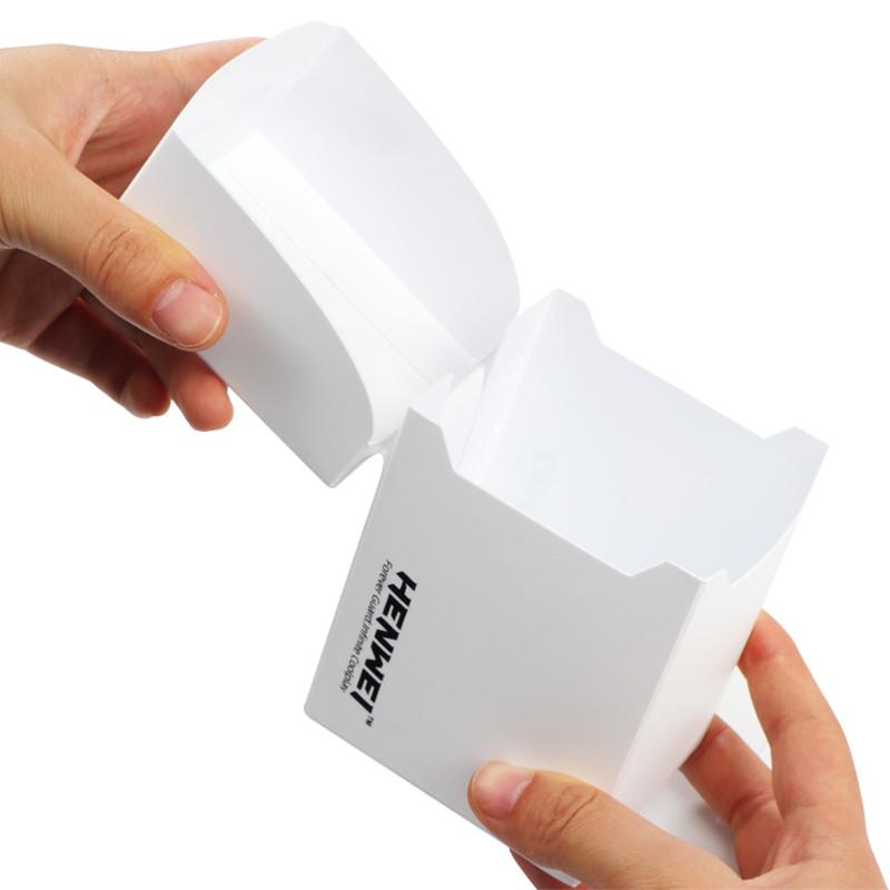 White 100+ capacity PP card box