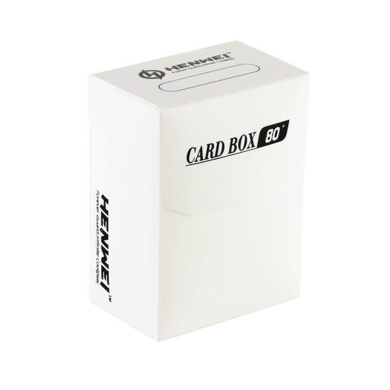 White 80+ capacity PP card box