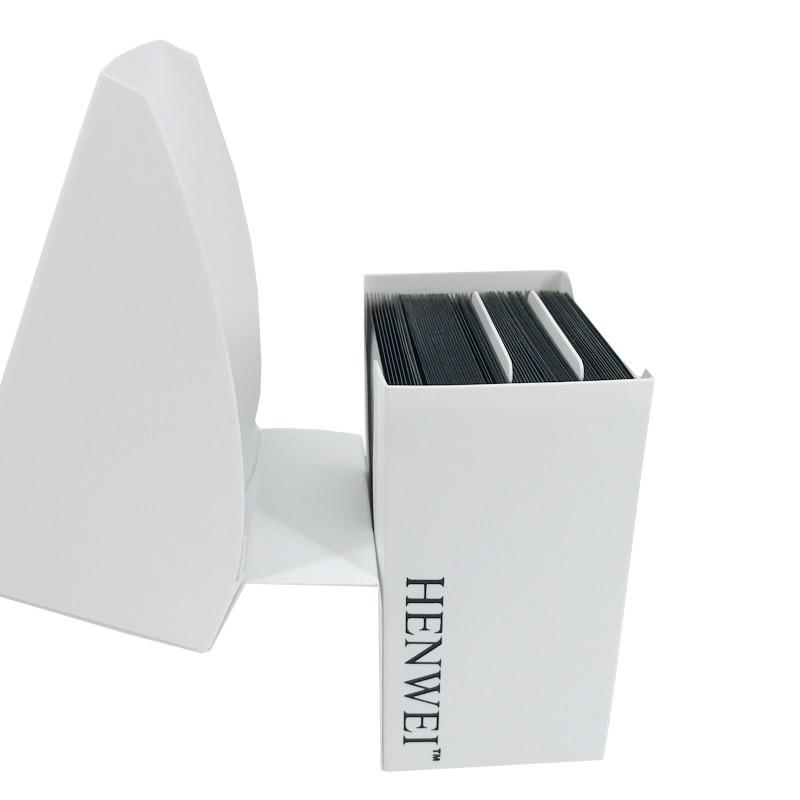 White full cover 70+ capacity PP card box