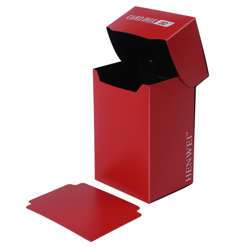 Two-color 90+ capacity PP card box
