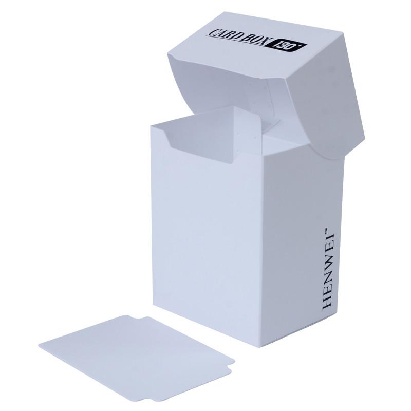 Pure color 130+ capacity PP card box