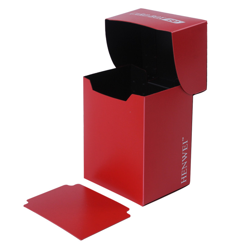 Double color 130+ capacity PP card box