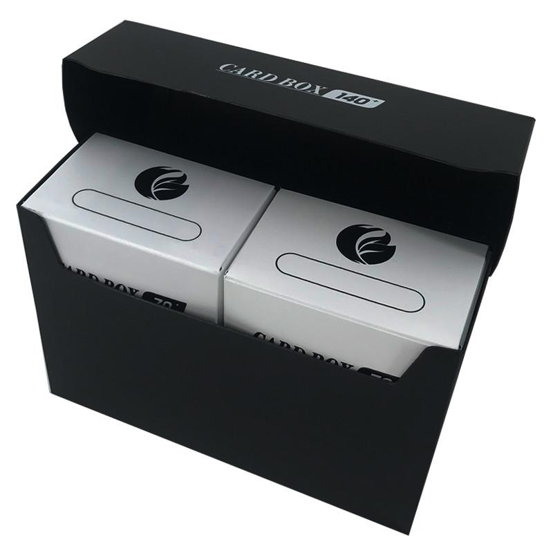 Black 140+ capacity PP card box