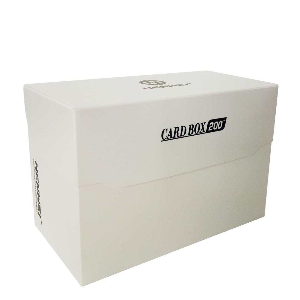 PP material 200+ capacity half cover card box