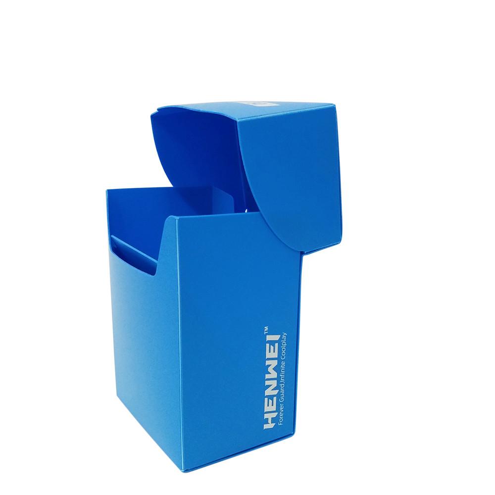 PP material 80+ capacity half cover card box