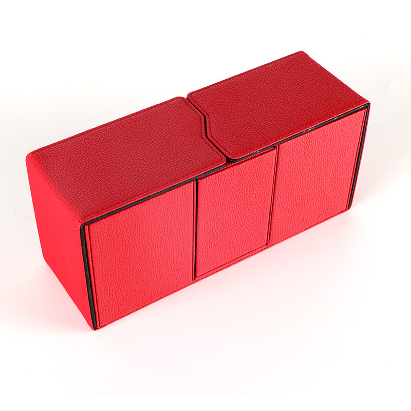PU material red spiderman series  deck box